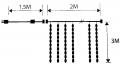 Curtain 2x3m