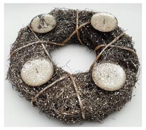 Rattan Wreath 30cm