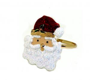 Santa Face Napkin
