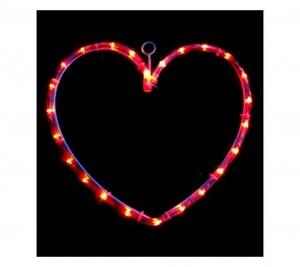 Heart red 60cmx60cm