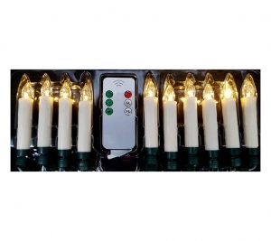10 Single candles