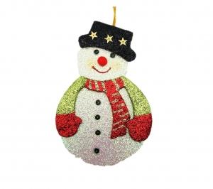 Snowman flat 18cm
