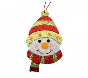 Snowman Face 18cm