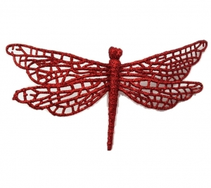 Dragonfly Red 17 x 9cm