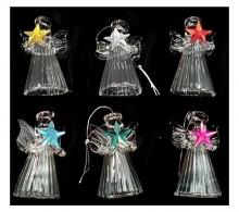 Glass Angel 4cm 6pc