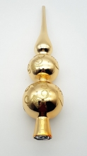 Glass Gold 30cm